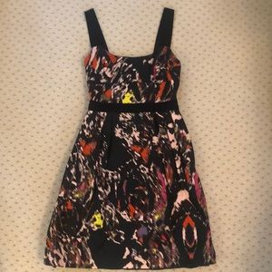 Black, red/multi Milly dress